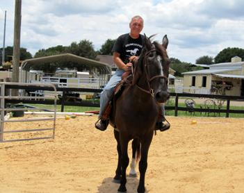 This Southwest Orange County resident dedicates every morning to DreamCatcher Horse Ranch Rescue Center.